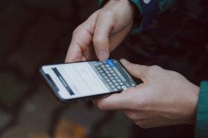 スマートフォン操作画面