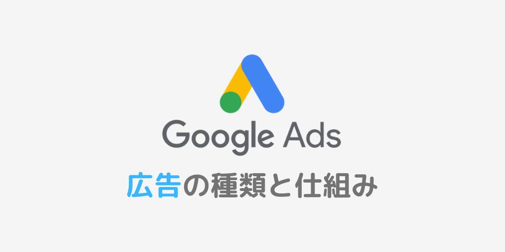 Google広告の種類と仕組み