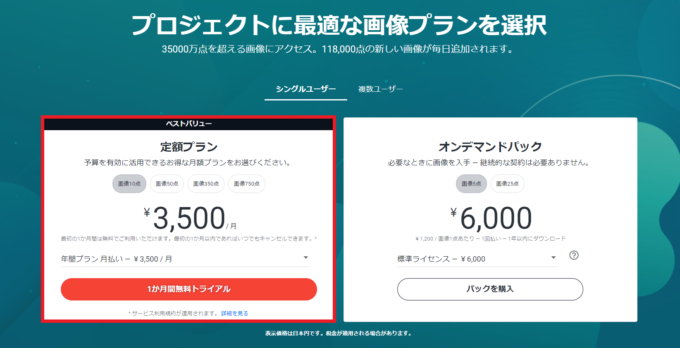 Shutterstockの無料トライアル登録方法を解説
