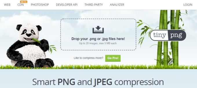Compress JPEG & PNG imagesの使い方